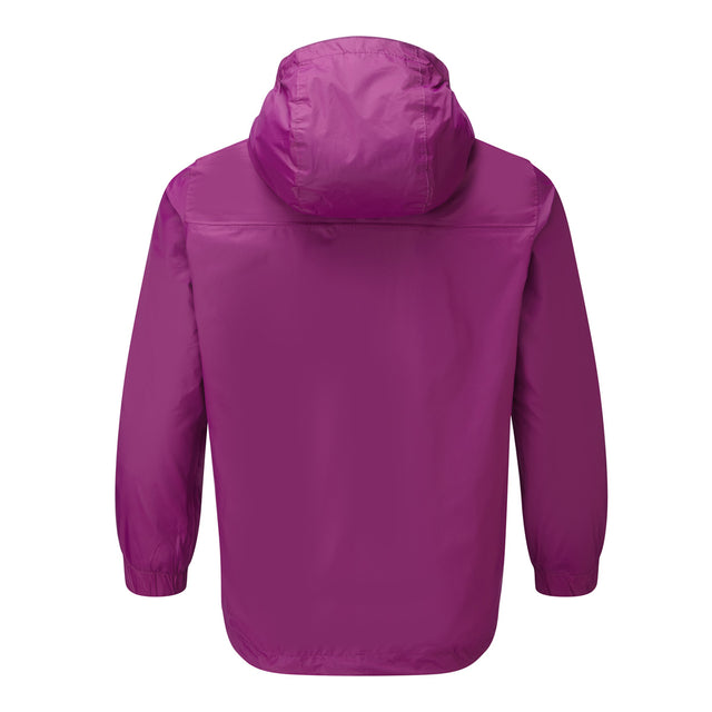 Craven Kids Waterproof Packaway Jacket - Grape Juice image 2