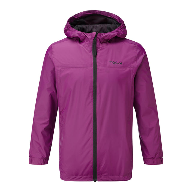 Craven Kids Waterproof Packaway Jacket - Grape Juice image 1