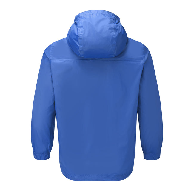 Craven Kids Waterproof Packaway Jacket - Royal image 2