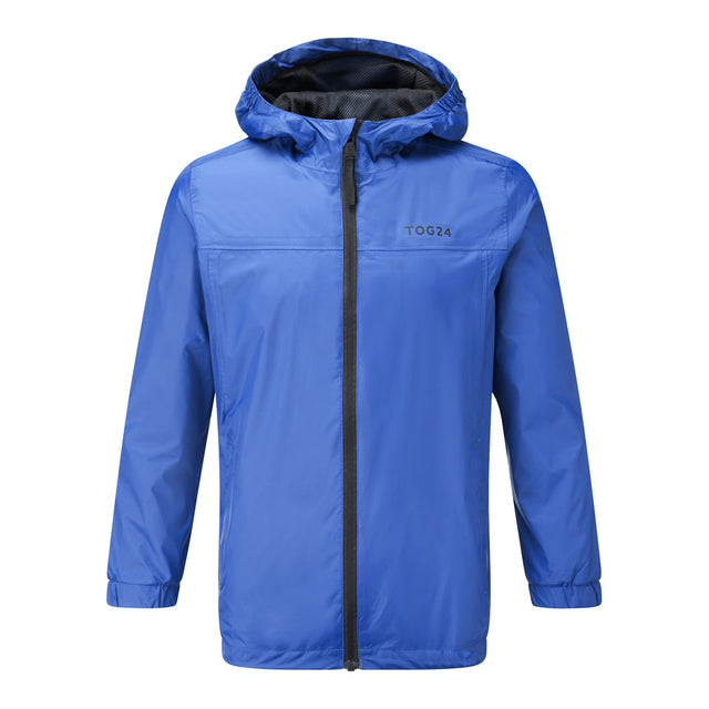 Craven Kids Waterproof Packaway Jacket - Royal image 1