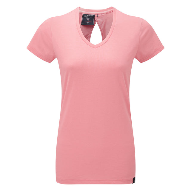 Daisy Womens Dri Release Wool T-Shirt - Light Salmon image 1