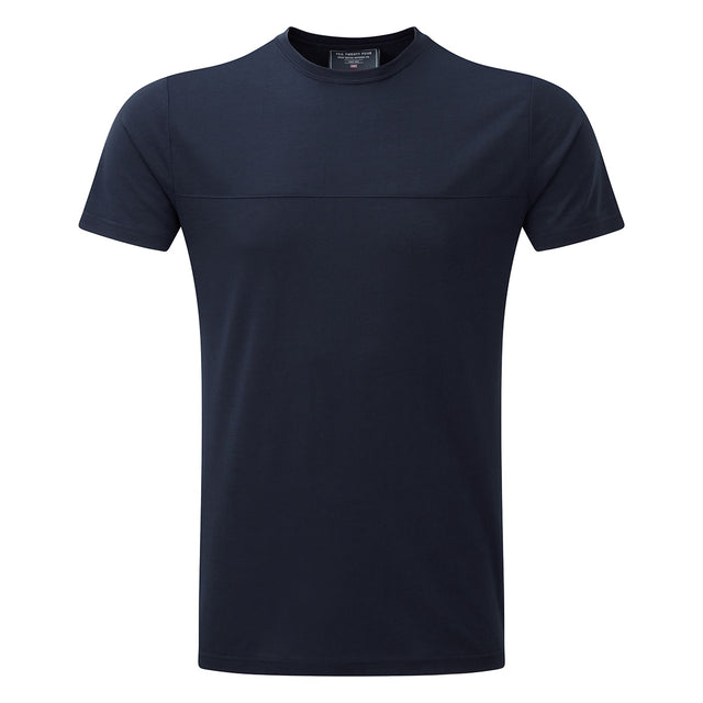 Dale Mens Dri Release Wool T-Shirt - Navy image 1