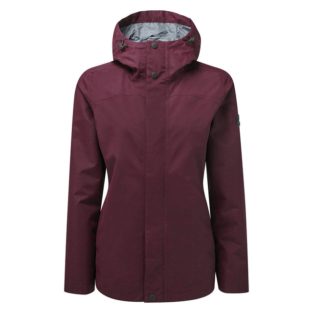 Dawson Womens Waterproof Jacket - Aubergine image 1