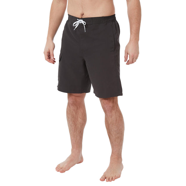 Declan Mens Swimshorts - Charcoal image 2