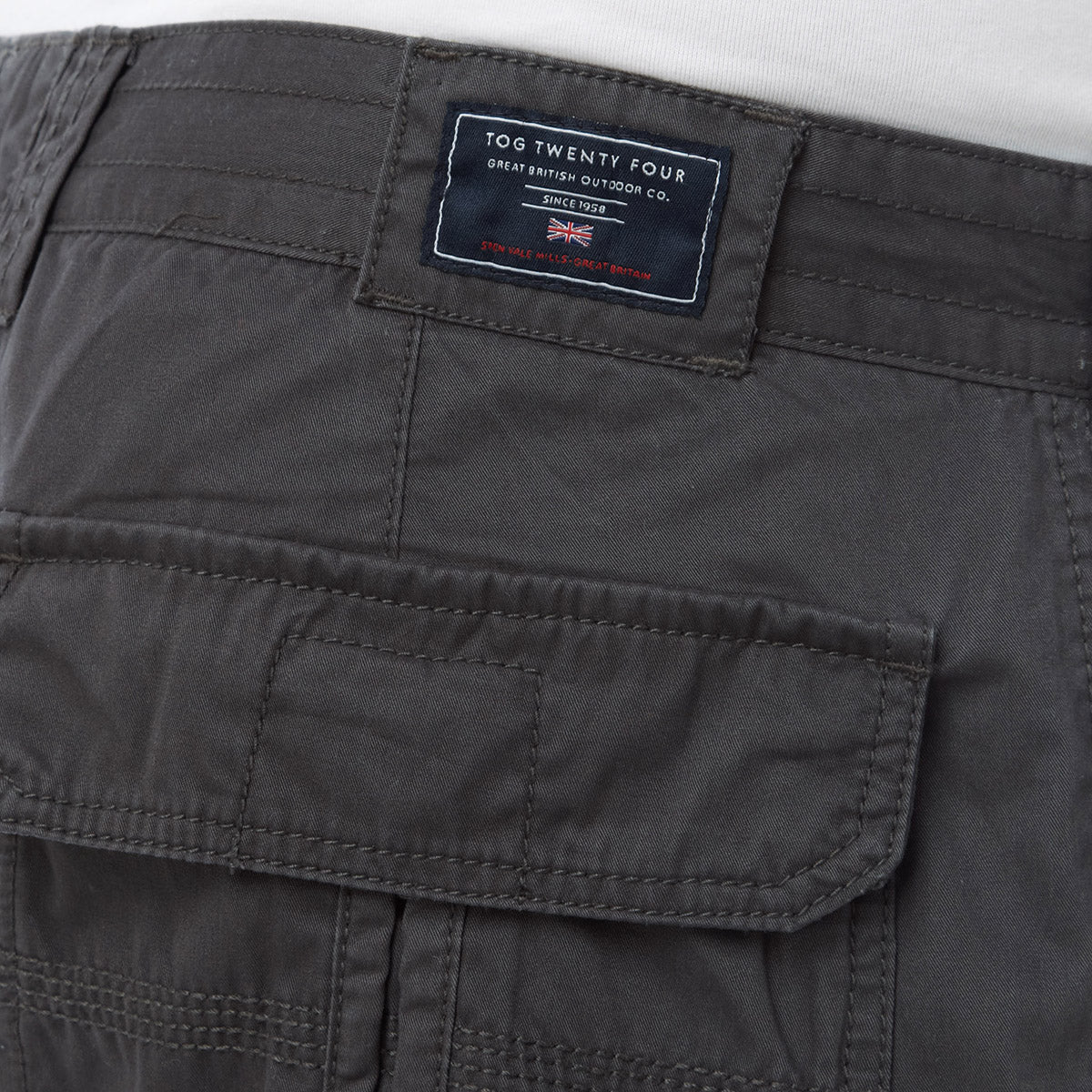 Desert Mens Shorts - Thunder image 4