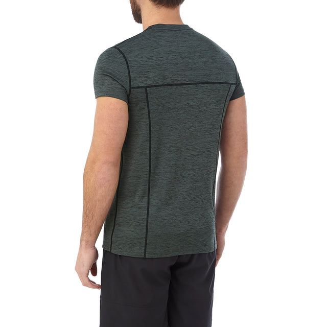 Dive Mens Performance T-Shirt - Dark Grey Marl image 3