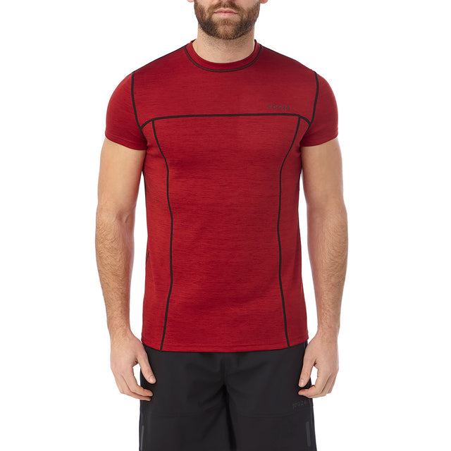 Dive Mens Performance T-Shirt - Chilli Marl image 2