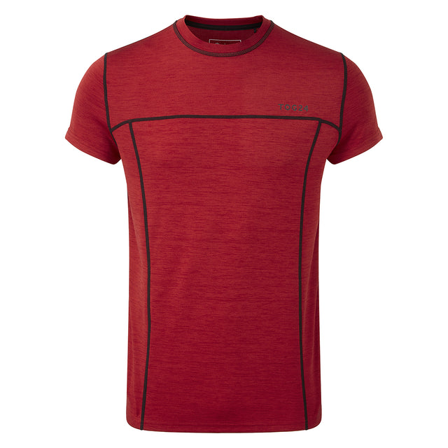 Dive Mens Performance T-Shirt - Chilli Marl image 1