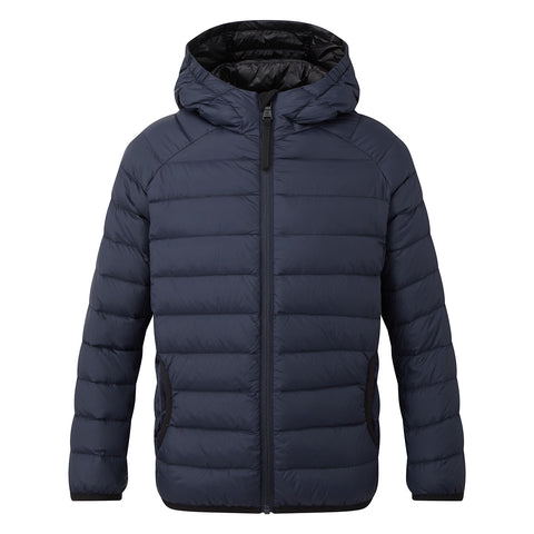 Dowles Kids Hooded Down Jacket - Navy