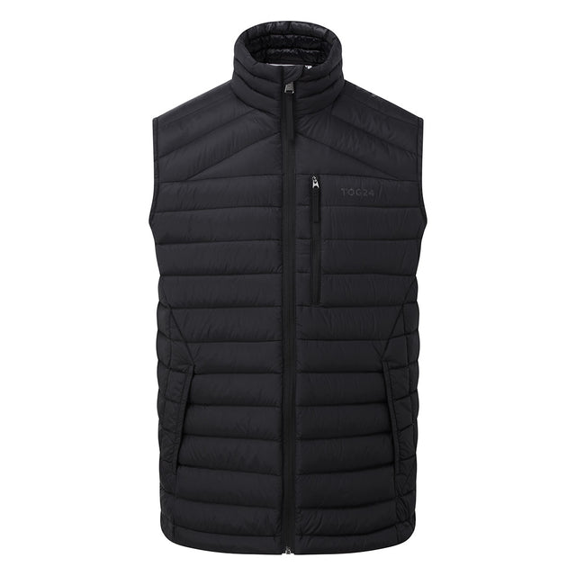 Drax Mens Down Gilet - Black image 5
