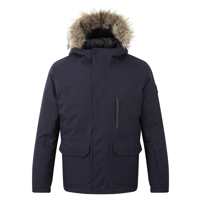 Duggan Kids Waterproof Jacket - Navy