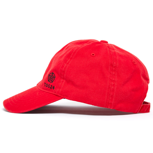 Duke Twill Cap - Chilli image 2