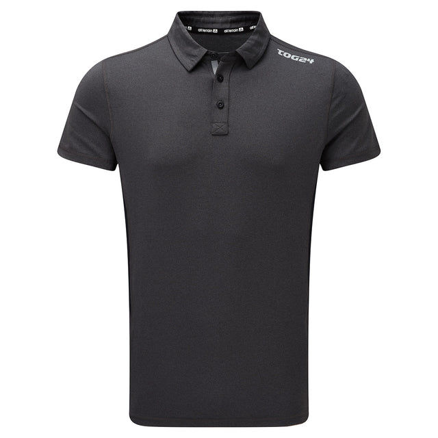 Dyno Mens TCZ Stretch Polo - Dark Grey Marl image 1