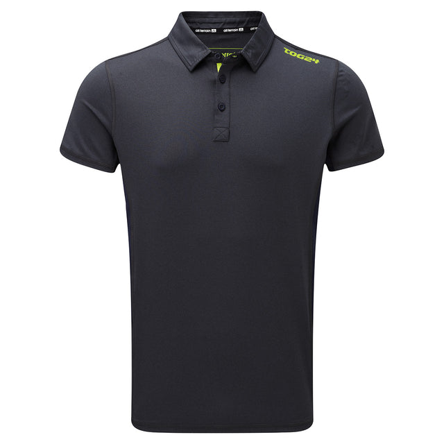 Dyno Mens TCZ Stretch Polo - Navy Marl image 1
