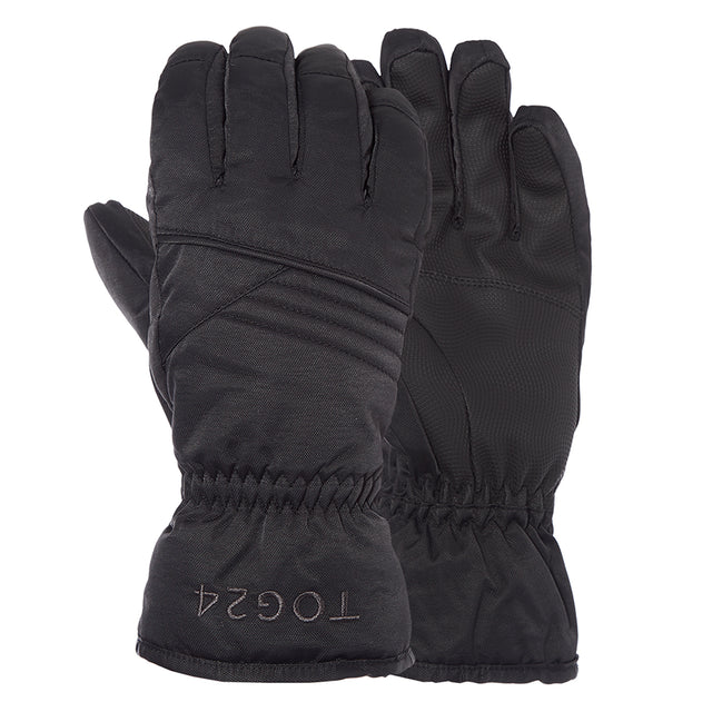 Eagle Kids Ski Gloves - Black image 1