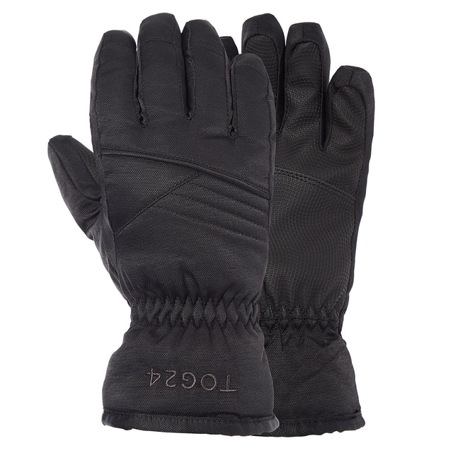 Eagle Kids Ski Gloves - Black image 3