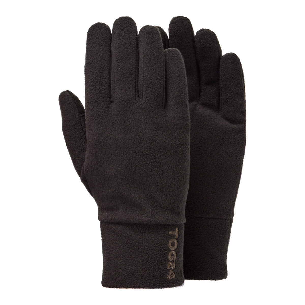 Elmet Microfleece Gloves - Black