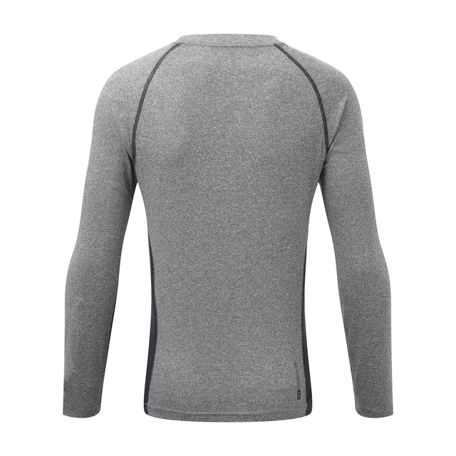 Ergo Kids TCZ Diamond Long Sleeve Crew Neck - Grey Marl/Black image 2