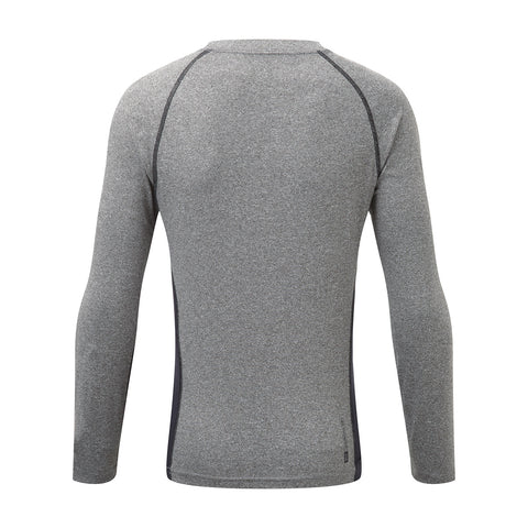Ergo Kids TCZ Diamond Long Sleeve Crew Neck - Grey Marl/Black