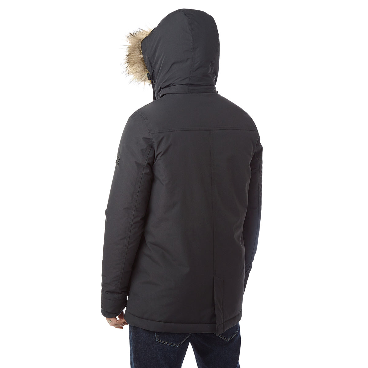 Essential Mens Waterproof Jacket - Black image 4