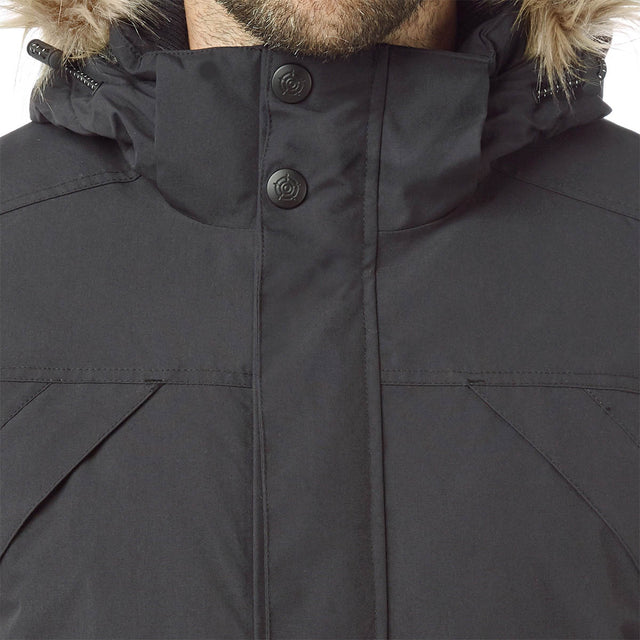 Essential Mens Waterproof Jacket - Black image 5