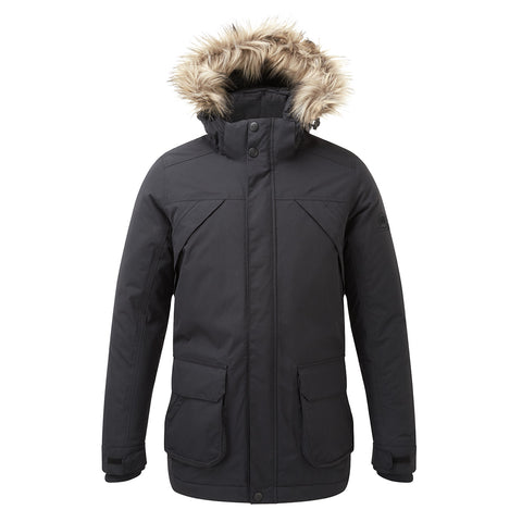 Essential Mens Waterproof Jacket - Black