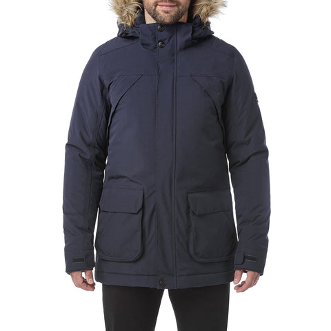 Essential Mens Waterproof Jacket - Navy