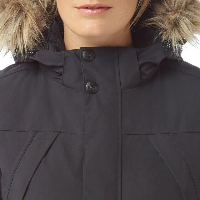 Essential Womens Waterproof Jacket - Black image 5