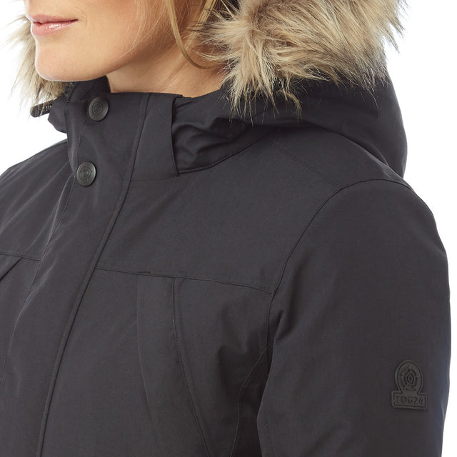 Essential Womens Waterproof Jacket - Black image 6