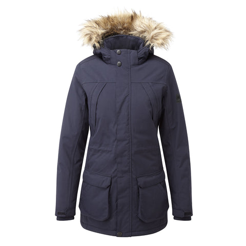 Essential Womens Waterproof Jacket - Navy