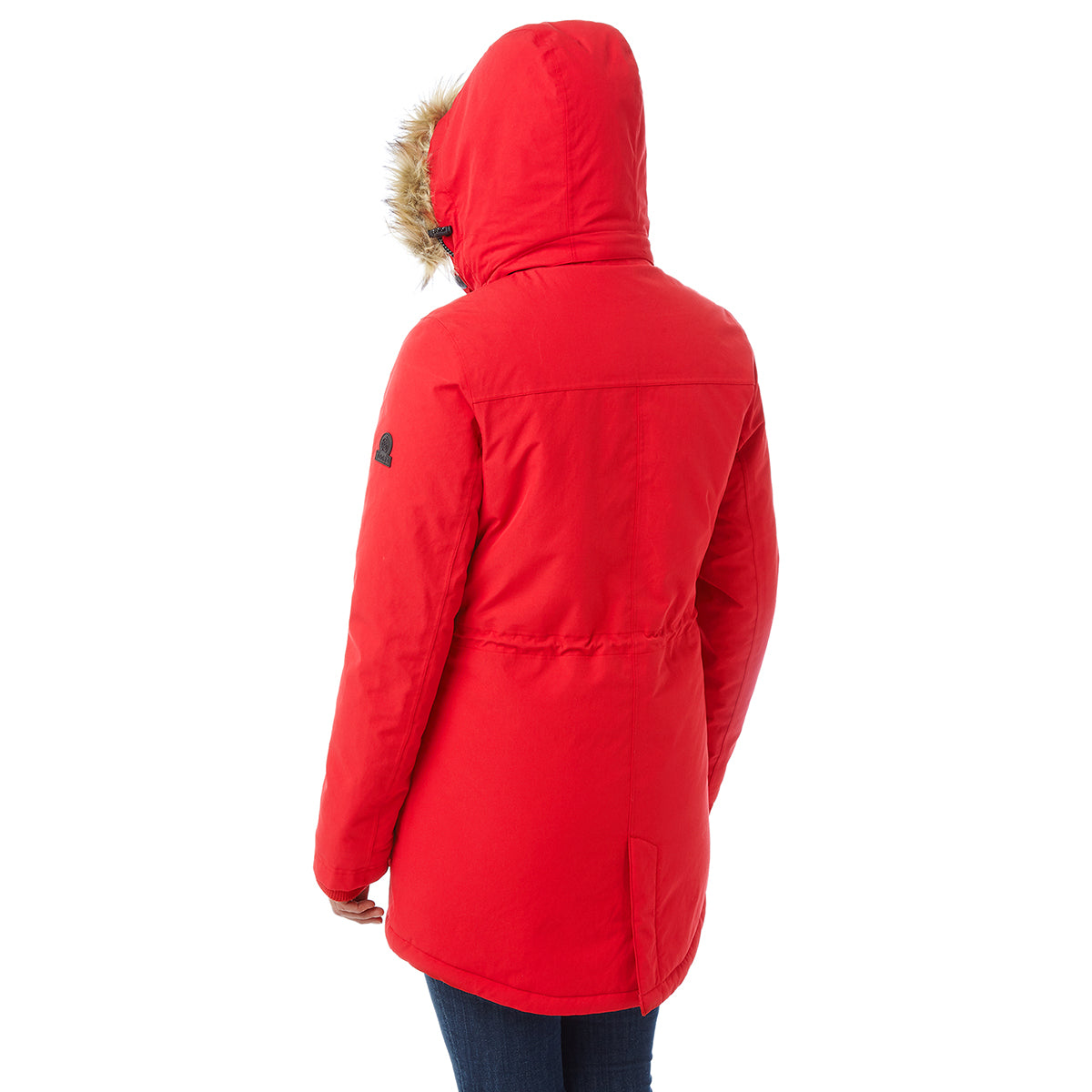 Essential Womens Waterproof Jacket - Rouge Red image 4