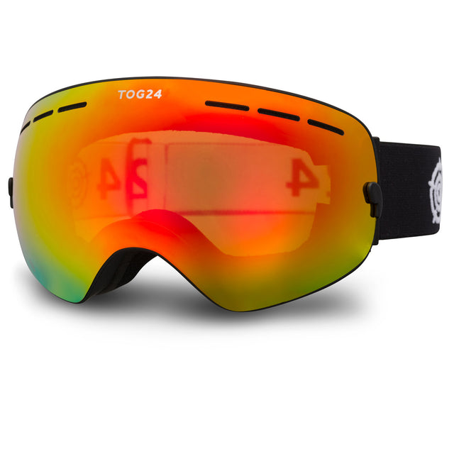 Exchange Cat 2/3 Lens Goggles - Black/Red