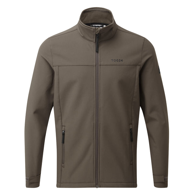 Feizor Mens Softshell Jacket - Dark Khaki image 6