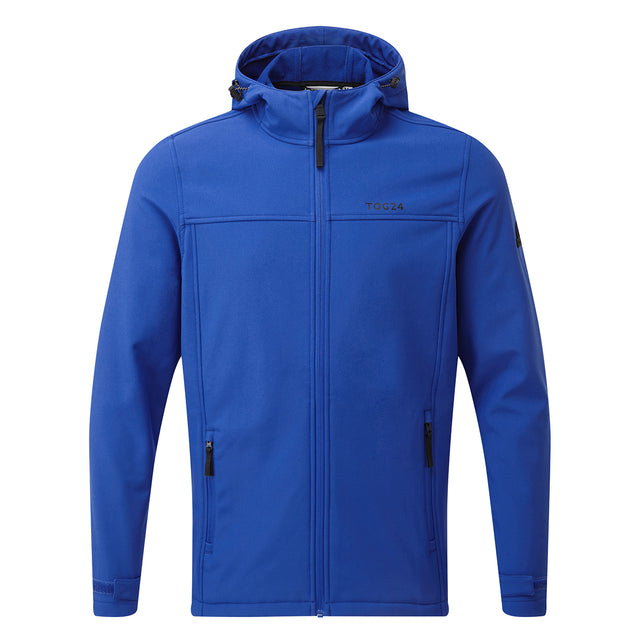 Feizor Mens Softshell Hooded Jacket - Royal image 3