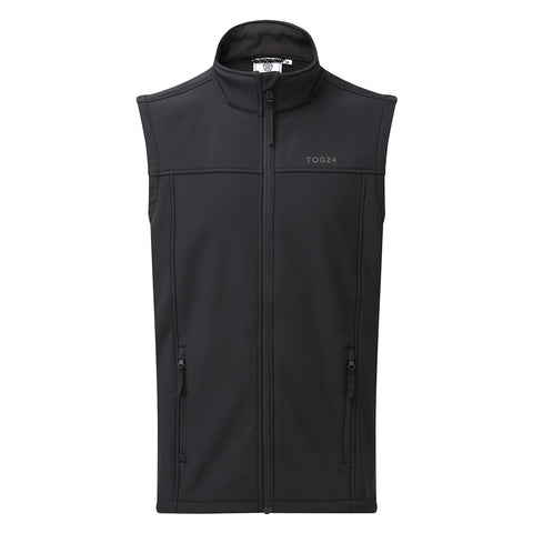 Feizor Mens Softshell Gilet - Black