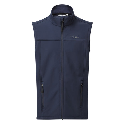 Feizor Mens Softshell Gilet - Navy