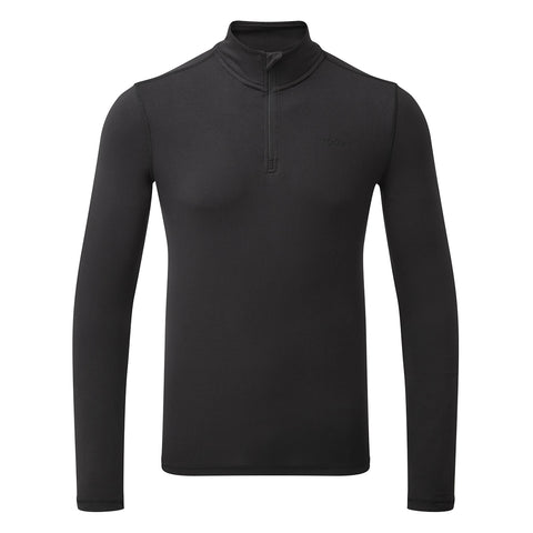 Fixby Mens Thermal Zipneck - Black