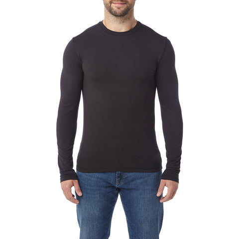 Fixby Mens Thermal Crew Neck - Black