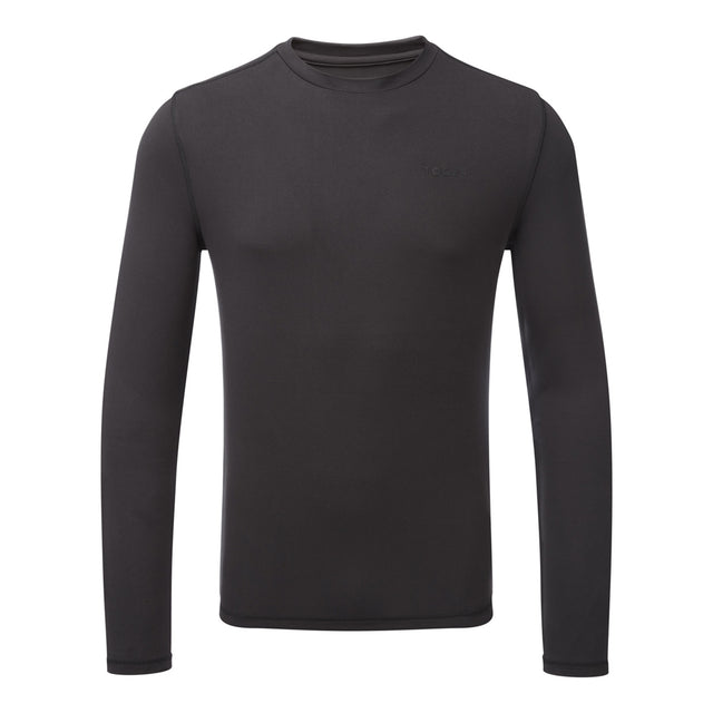 Fixby Mens Thermal Crew Neck - Black image 1