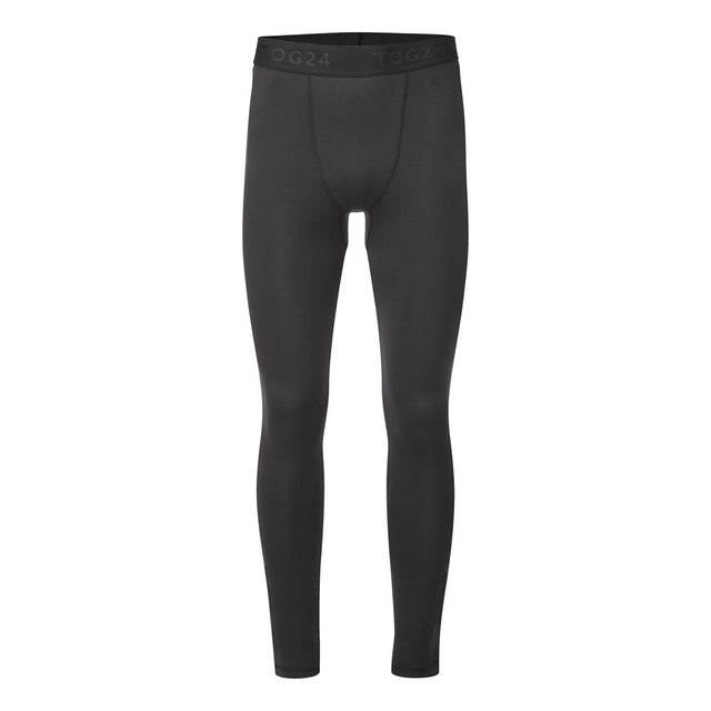 Fixby Mens Thermal Leggings - Black