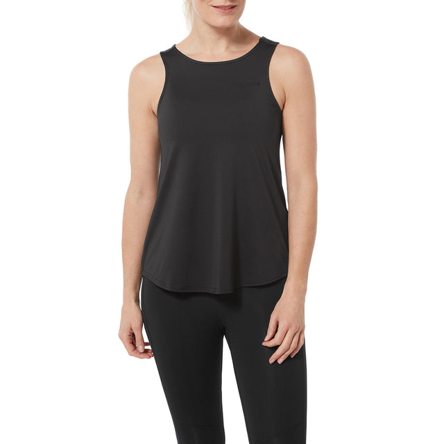 Flinn Womens Performance Vest - Black image 2