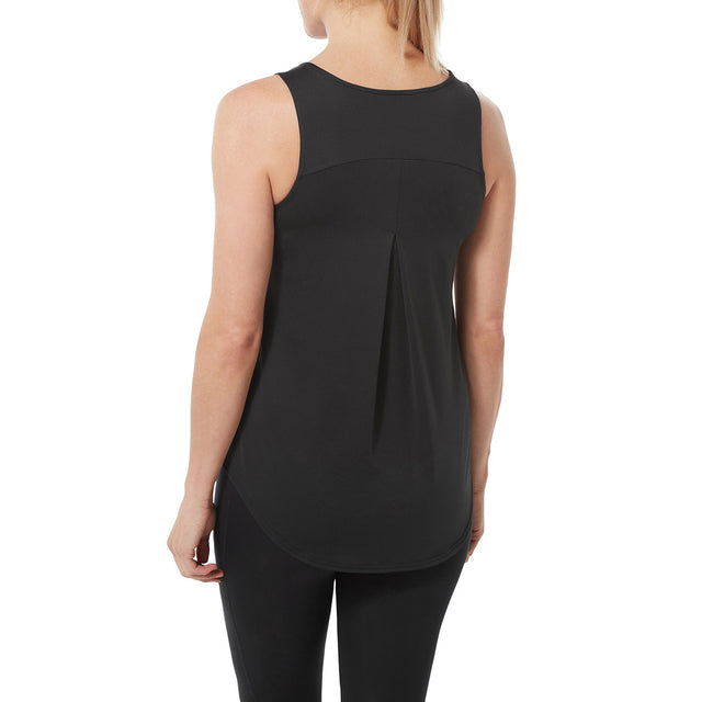 Flinn Womens Performance Vest - Black image 3