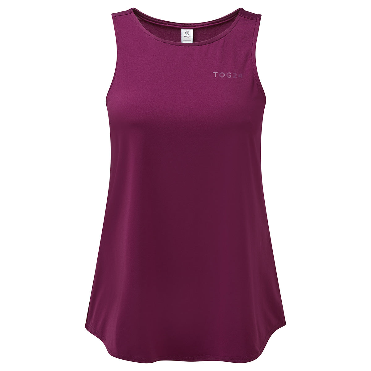 Flinn Womens Performance Vest - Mulberry