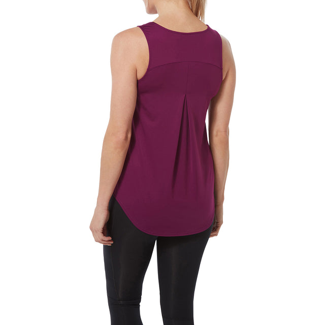 Flinn Womens Performance Vest - Mulberry image 3