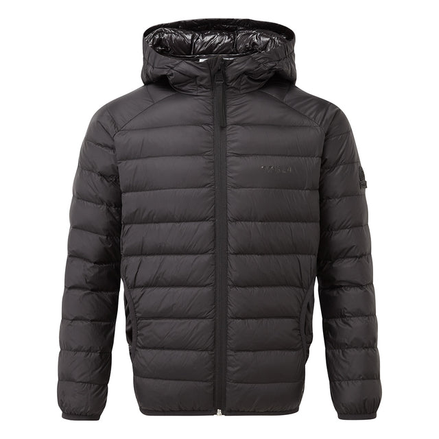 Fuse Kids Hooded Down Jacket - Black image 1