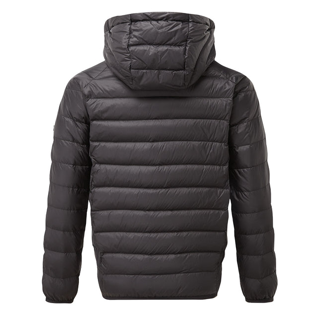 Fuse Kids Hooded Down Jacket - Black image 2