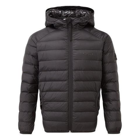 Fuse Kids Hooded Down Jacket - Black