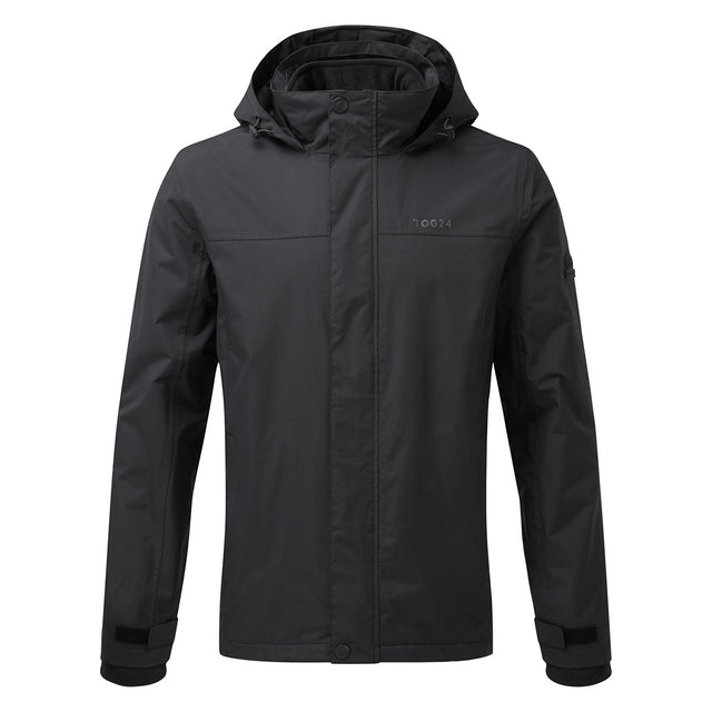 Gambit Mens Waterproof 3-In-1 Jacket - Black image 1