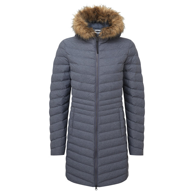 Harlington Womens TCZ Thermal Jacket - Navy Marl image 1