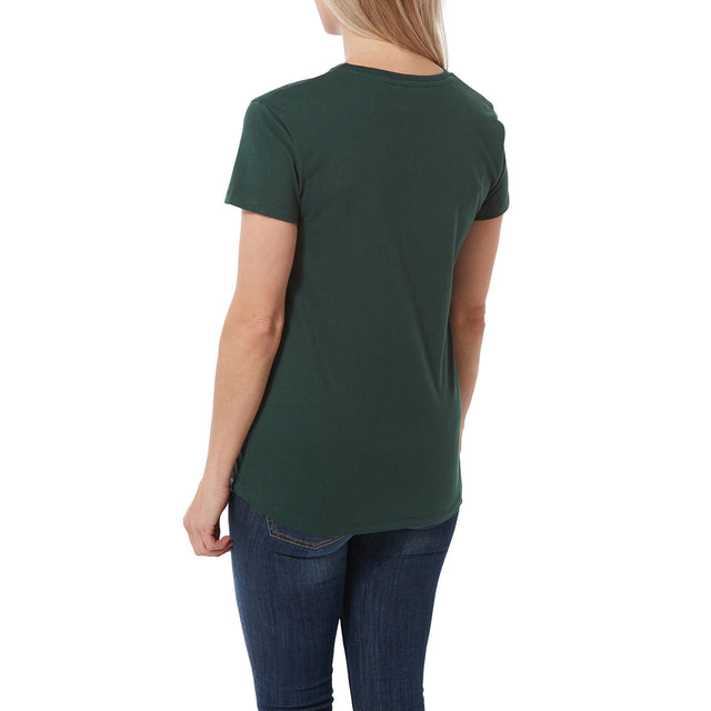 Harome Womens Graphic T-Shirt Valley - Forest image 3